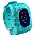 10 pcs Q50 GPS Smart Phone Assista Crianças Garoto Relógio De Pulso GSM GPRS Localizador Rastreador Anti-Perdida Smartwatch Guarda da Criança DHL livre