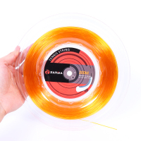 1 Reel ZARSIA (Orange)New Tennis racket Strings Power Rough Polyester tennis string tennis racket strings 17G/1.25 mm