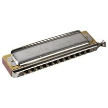 Hohner Larry Adler Professional 12 16 Hole Chromatic Harmonica Harp Key C Brass Reeds 3 Octave