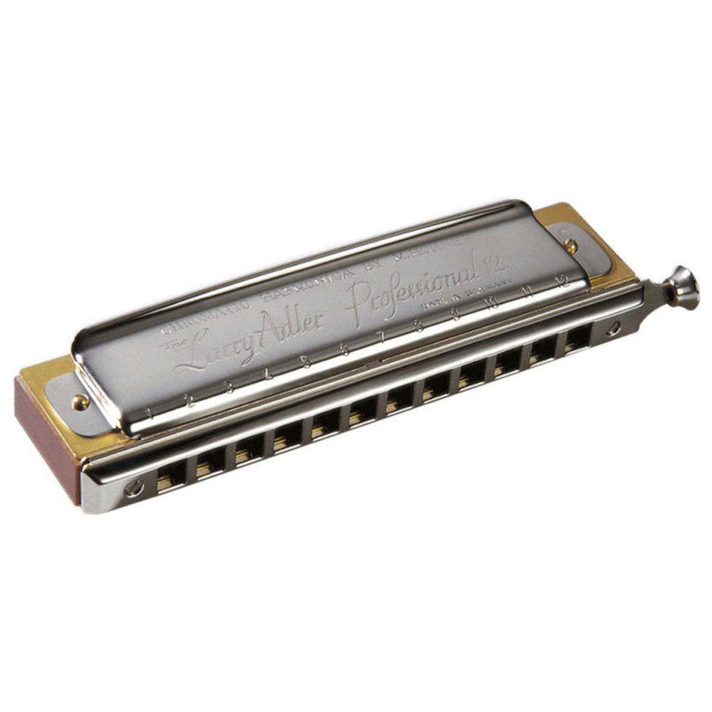 Hohner Larry Adler Professional 12 16 Hole Chromatic font b Harmonica b font Harp Key C