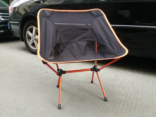 Cadeira cadeira de praia cadeira dobrável Portátil Fezes de pesca Cadeira Cadeira de carga Máxima 145 kg