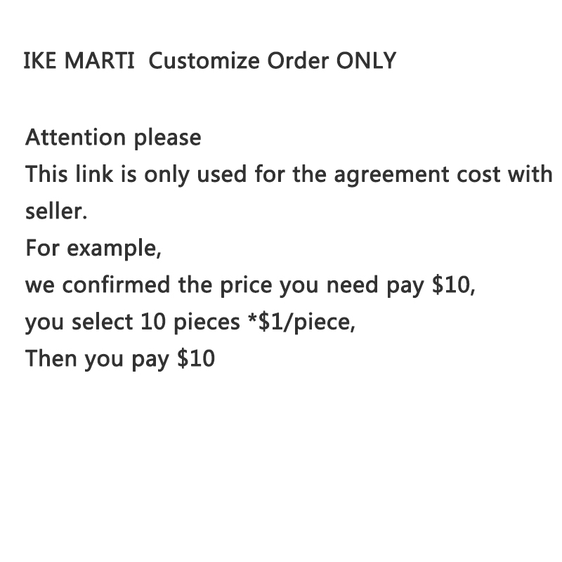 IKE MARTI  Customize Order ONLY