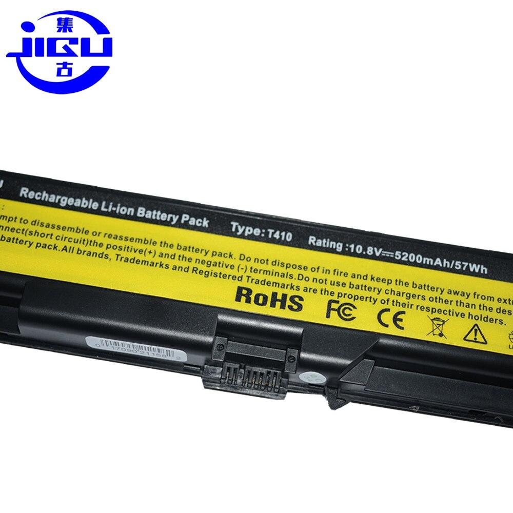 Jigu батарея для ноутбука для lenovo ThinkPad L410 L412 L420 L421 L510 L512 L520 SL410 SL410k SL510 T410 T420 T510 T520 ноутбук