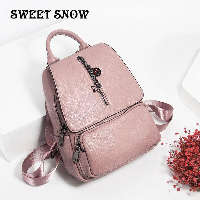 SWEET SNOW Cute School Bags for Teenage Girls Women Fashion Casual Female Shoulder Bag Sac a