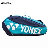 Quality Large Tennis Bag Badminton Racket Bag 2 4Ps Tennis Racquet Badminton Recaquet Shoulder Bag Training Accessory Backpack