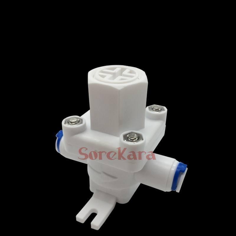Praktisch 3/8 rohr Pushfit Druck Relief Regler Filter Schutz Ventil Für Ro Wasser Ventil