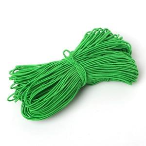 25 метров, 1 мм, эластичный шнур, резиновая веревка, нейлоновая нить для вышивки крестиком, нитки, швейные инструменты, аксессуары