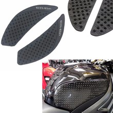 Rubber Traction Pad Tank Grip Protector for 2006-2012 Kawasaki ER-6N ER6N
