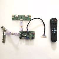 AVX9 CZ Universal HDMI VGA AV Audio LCD Controller Board for 22 inch 1680 x 1050 M220EW01 V0 4CCFL LVDS Monitor Kit Easy DIY