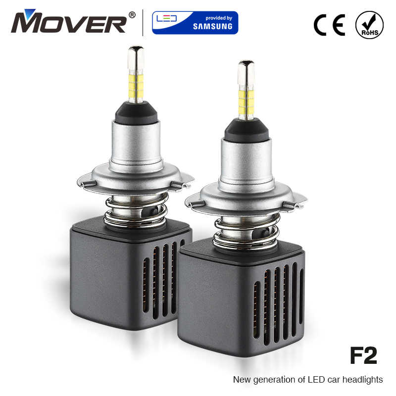 LED Provided By SAMSUNG Car Headlight Bulbs H7 LED H1 H3 H4 H8 H9 H11 9005 HB3 9006 Car Styling Auto Headlight 6500K Automotivo