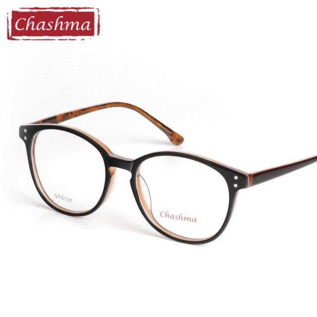5cab1a1620cbf Chashma Super Qualidade Óculos de Acetato Armações de Óculos Retrô para  Homens e Mulheres