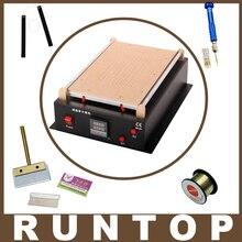 Hot 110 v/220 v bomba de vácuo embutido para ipad tablet pc telefone de 14 polegadas lcd de vidro separador de divisão máquina de reparo de tela