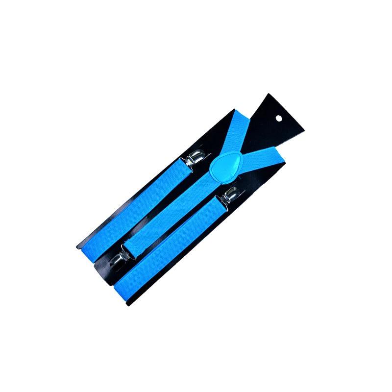 Для женщин и мужчин s рубашка для отдыха Подвязки подтяжки для рубашки эластичные мужские рубашки подтяжки держатель подвязки бизнес - Цвет: Небесно-голубой