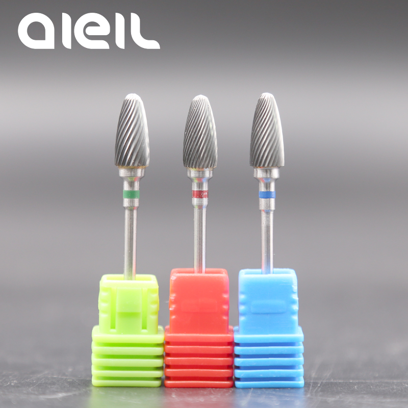 Milling Cutters For Manicure Machine Nail Drill Bit Tungsten Carbide Nail Drill Manicure Milling Cutters For Electric Nail Drill