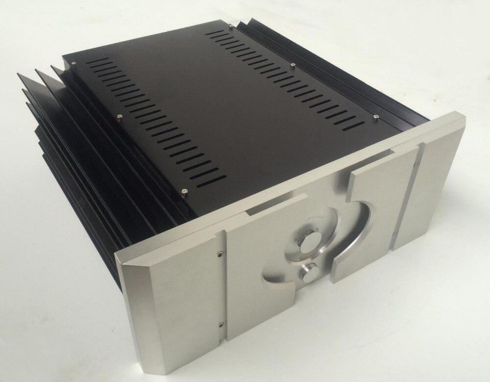 Nouveau Passer Un aluminium amp châssis/amplificateur audio pour la maison cas (taille 430*430*170 MM)