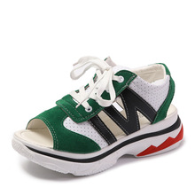 YeddaMavis Women Shoes Woman Platform Sandals Summer New Casual Breathable Wedges for Sneakers