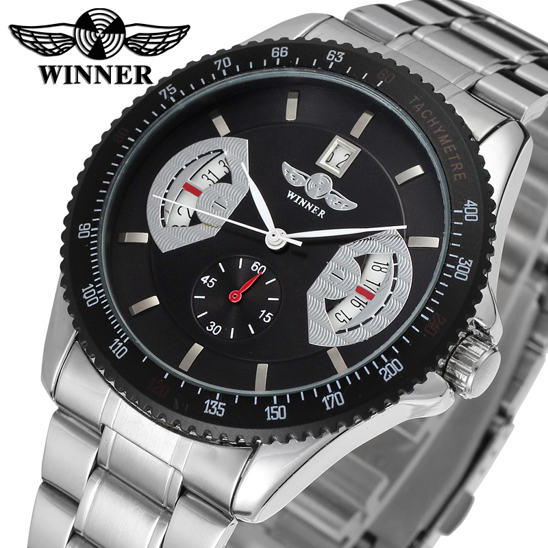 New Business Watches Men Factory Shop Top Quality Automatic Men Watch Free Shipping WRG8045M4T3
