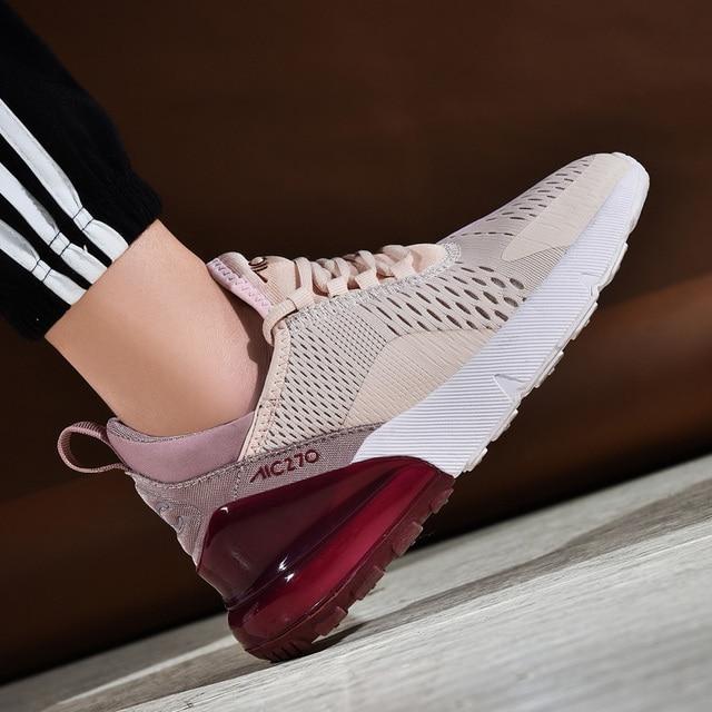 Кроссовки женские 2019 легкая беговая Обувь для женщин Air Sole дышащие zapatos de mujer пара высокого качества спортивная обувь