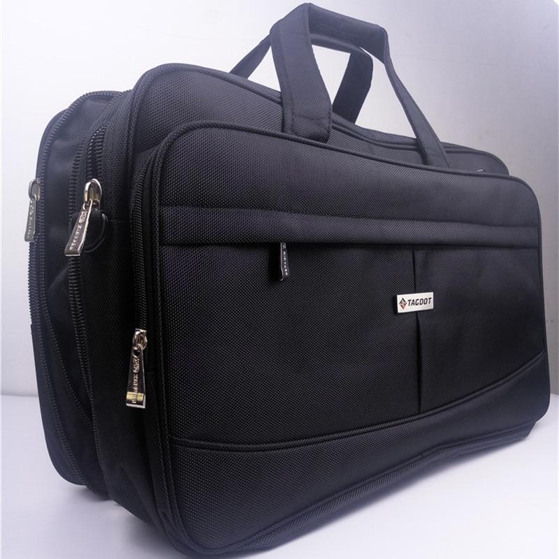 Super capacity portable laptop bag 19 18 17 3 17 inch Big capacity Shoulder Messenger Business