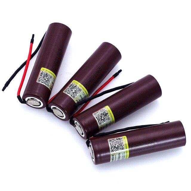 Liitokala для HG2 18650 3000 мАч электронная сигарета перезаряжаемый аккумулятор Высокая-разряда, 30A высокий ток + DIY Linie