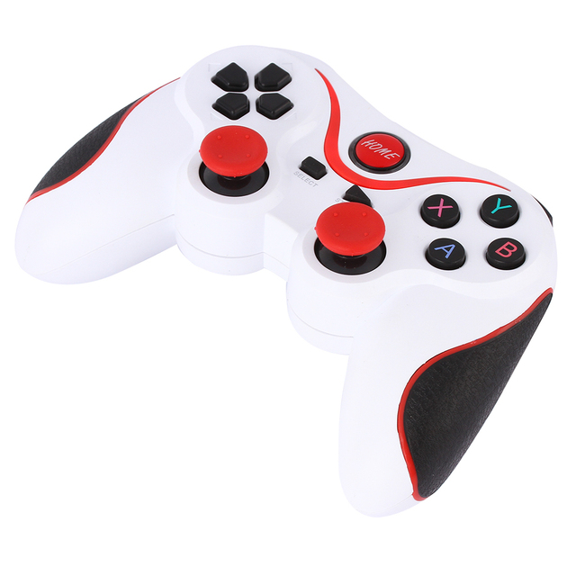 Design T3+ Wireless Gamepad Bluetooth V3.0 Game Remote Controller Joystick Lightweight Structure for Android Smartphone Box