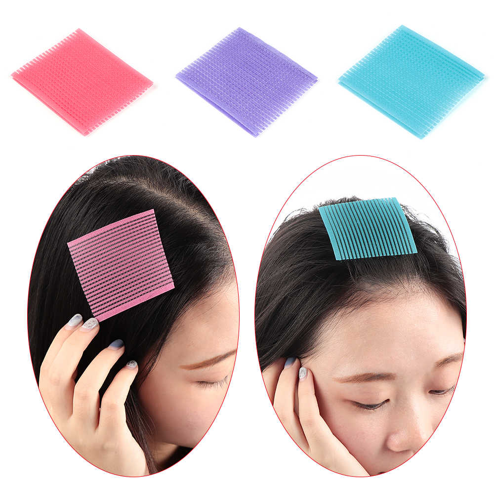 1Pack Hair Sticker Clip Bangs Fixed Seamless Magic Paste Posts Magic Tape Fringe Hair Bang Patch Salon Styling Tools
