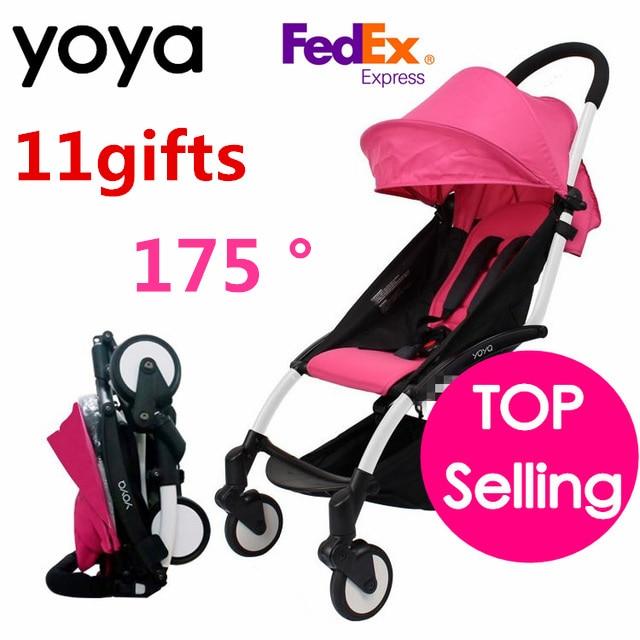 Yoya Baby Stroller 175 Degree Can Sit Can Lie Folding baby Stroller Car Pram Baby Carriage Infant Trolley Babyzen Yoyo Stroller цена