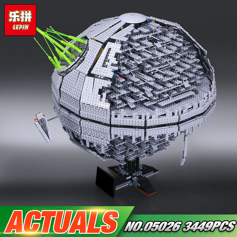 DHL Lepin 05026 Star Toys Wars The 10143 second generation Death Model Star Set Building Block Bricks Kids Toys Christmas Gifts