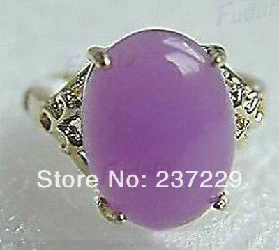 Wholesale price FREE SHIPPING ^^^^beautiful purple stone ring size 7 8 9