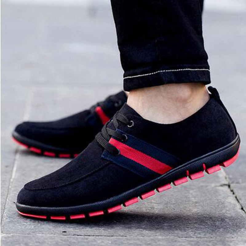Breathable New 2019 Fashion Men Shoes plus size 39 47 Spring Summer Male Casual Shoes low