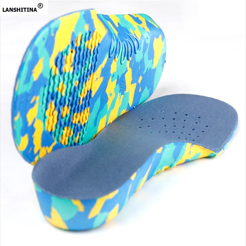 2017 New EVA Children's Foot Orthotics Arch Support Insoles Children Flatfoot Foot Care Insole expfoot orthotic arch support shoe pad orthopedic insoles pu insoles for shoes breathable foot pads massage sport insole 045