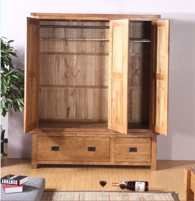 Beautiful Plate Qumei Small Closet Simple IKEA Solid Wood Composition Assembled  Wardrobe Two Three Four Wardrobe Closet In Wardrobes From Furniture On  Aliexpress.com ...