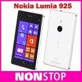 """16 gb desbloqueado nokia lumia 925 lumia 925 original 8mp 4.5 """"con pantalla táctil capacitiva gps gsm frente cámara abrió el teléfono celular"""