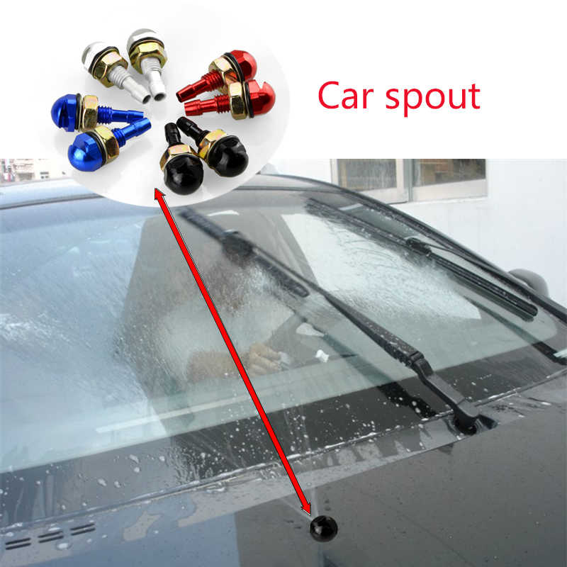 2 Pcs Mobil Styling Mesin Cuci Bersih Wiper Nozzle Cerat untuk BMW E46 E39 E90 E60 E36 F30 F10 E34 X5 e53 E30 F20 E92 E87 M3 M4 M5 X5 X6