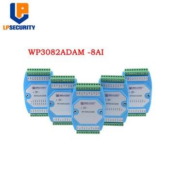 8ch 0-20MA/4-20MA Analoge Ingang Huidige Verzamelen Module RS485 MODBUS WP3082ADAM