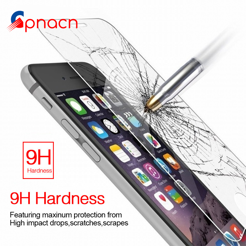 9H Tempered Glass For iPhone 6s 6 Plus 7 8 Plus Glass Accessories Protective Glass For iPhone 8 7 6 5s 5 SE 4 Screen Protectors