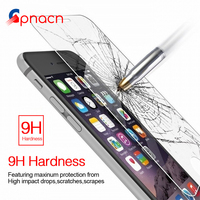 9H Tempered Glass For iPhone 6s 6 Plus 7 8 Plus Glass Accessories Protective Glass For iPhone 8 7 6 5s 5 SE 4 Screen Protectors Phone Screen Protectors