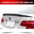 PARA BMW E92 2 PORTAS CHUTE ALTO CARBONO TRUNK BOTA SPOILER ASA 2009-2012