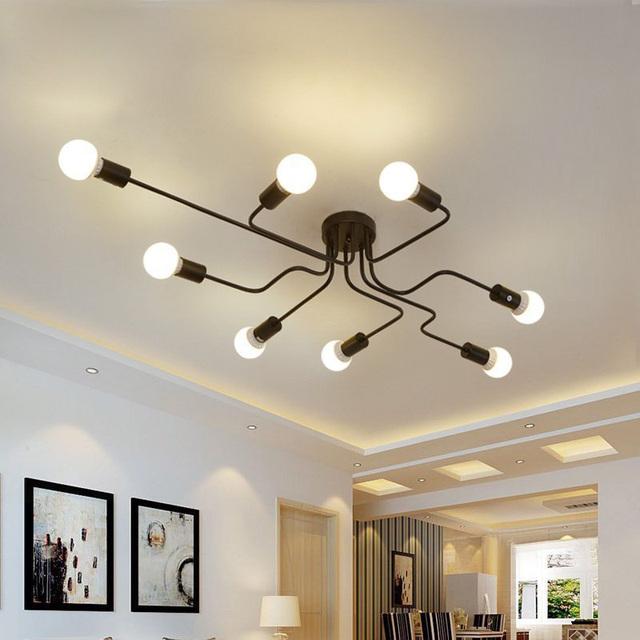 Nowoczesny LED sufitowy żyrandol oświetlenie salon sypialnia żyrandole Creative Home Lighting oprawy Darmowa wysyłka
