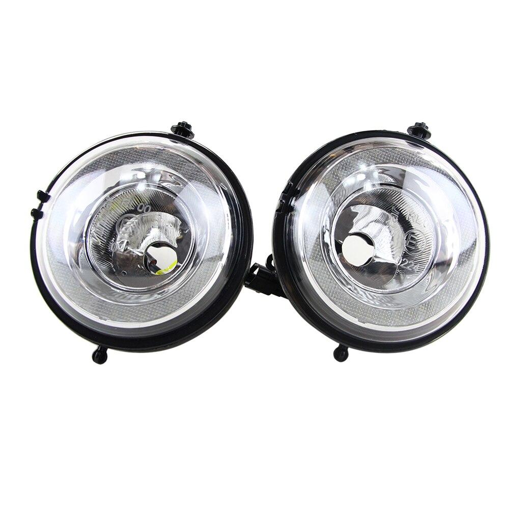 One Pair Led Daytime Running Light DRL Fog Lights For Bmw Mini Cooper R55 R56 R57 R58 R59 R60 Halo RingSuper Bright 12V