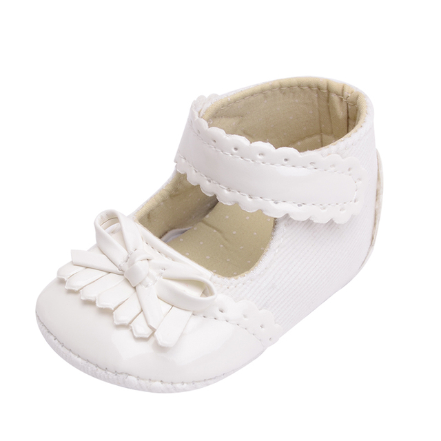 ecf258f1d8c00 CHICHIMAO Princess Baby Girl Shoes Shallow Little Cute Bowknot For Crib 0-18  Months Kids Soft Anti-skid Moccasin