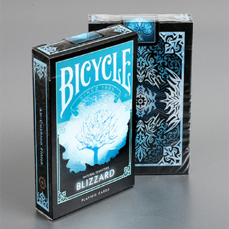 Bicycle Natural Disasters Snowstorm Playing Cards Collectable Poker USPCC Limited Edition Deck Magic Cards Magic Tricks Props