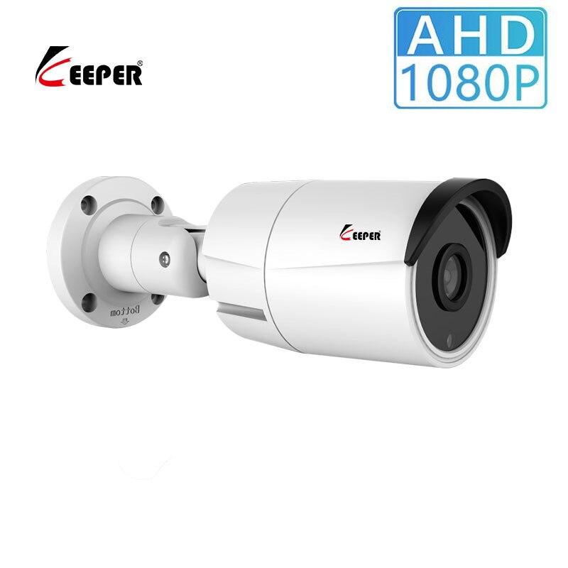 Keeper 2.0MP 1080P аналоговый AHD видеонаблюдение водонепроницаемый Безопасность камера видеонаблюдения наружная пуля камера Ночное видение IR Cut