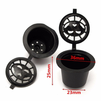 35mm 1.4 Inch Coffee Tool Refillable Reusable Espresso Cup Capsule Pod New