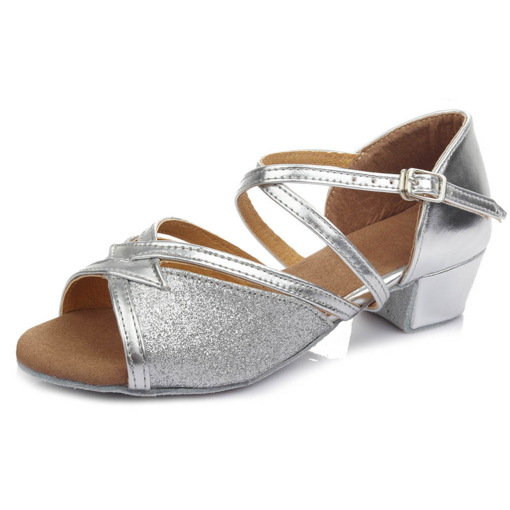 Free Shipping with Great Discounts&Coupons!!!/Promotion Price!!Brown Trending Latin Dance Shoes for Women/Girls/6 Colors