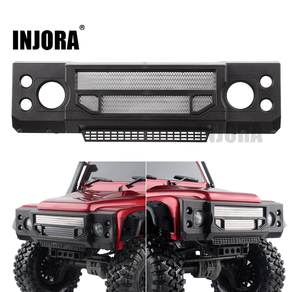 INJORA TRX4 Plastic Grille Front Face For 1/10 TRAXXAS Trx-4 RC Crawler Body Shell