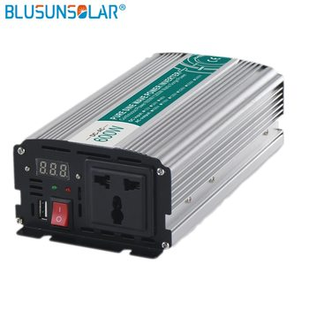 DC/AC 600W  DC12v/24v pure input sine wave power inverter to AC 110V 220V 50/60hz pure sine wave inverter