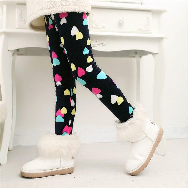 0e4aa54b6 2 6T Cute Totall Infant Girl Pants Cartoon velvet Baby Pants Cotton ...