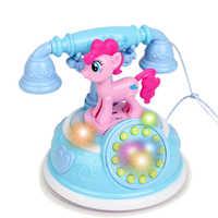 Retro Kinder Telefon Spielzeug Telefon Frühen Bildung Geschichte Maschine Baby Telefon Emulated Telefon Spielzeug Für Kinder Musical Spielzeug