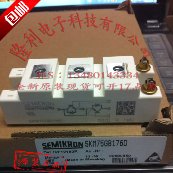 все цены на .SKM75GB176D SKM100GB176D SKM145GB176D original goods/ онлайн